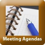 TP-meeting agenda